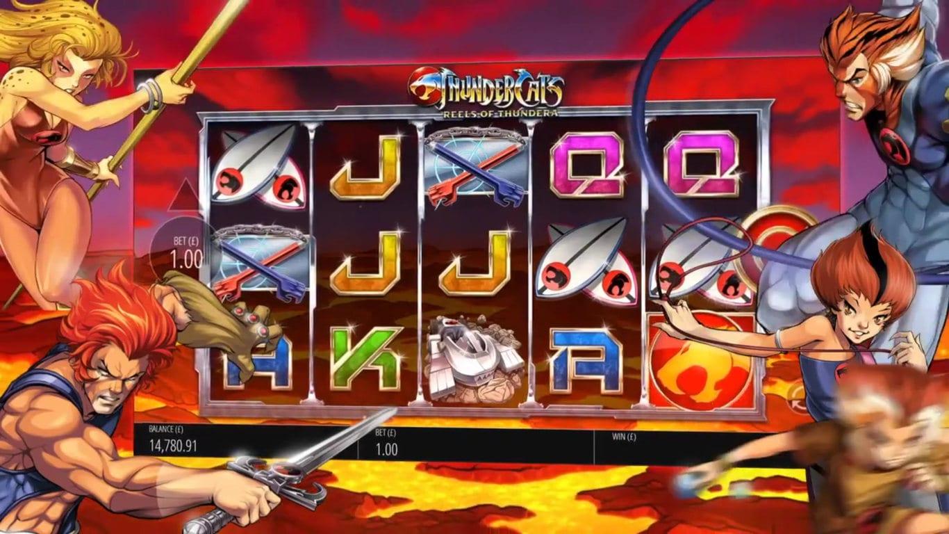 Thundercats Reels of Thundera slot review
