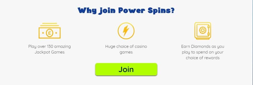 Power Spins Casino Information