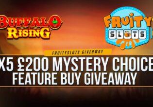 Buffalo Rising Bonus Buy Giveaway