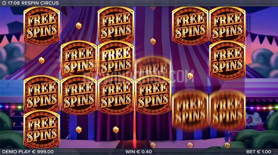 Respin Circus Slot Review