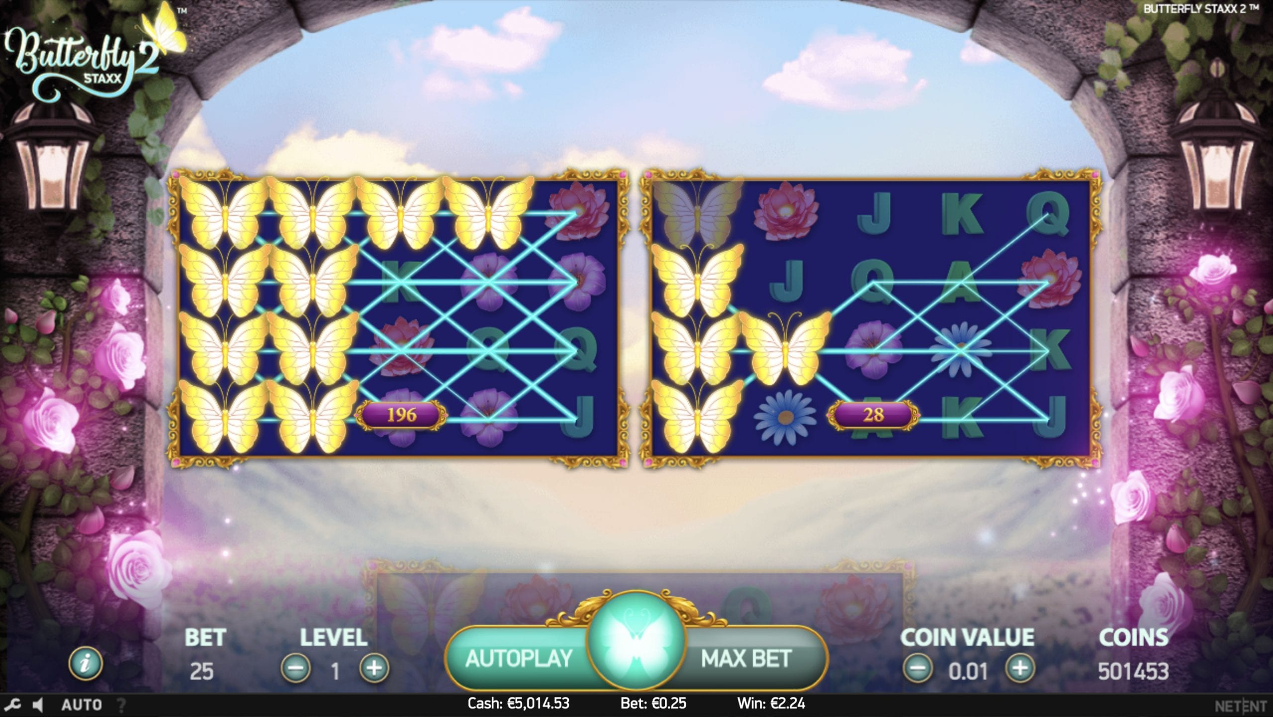 Butterfly Staxx 2 slot review