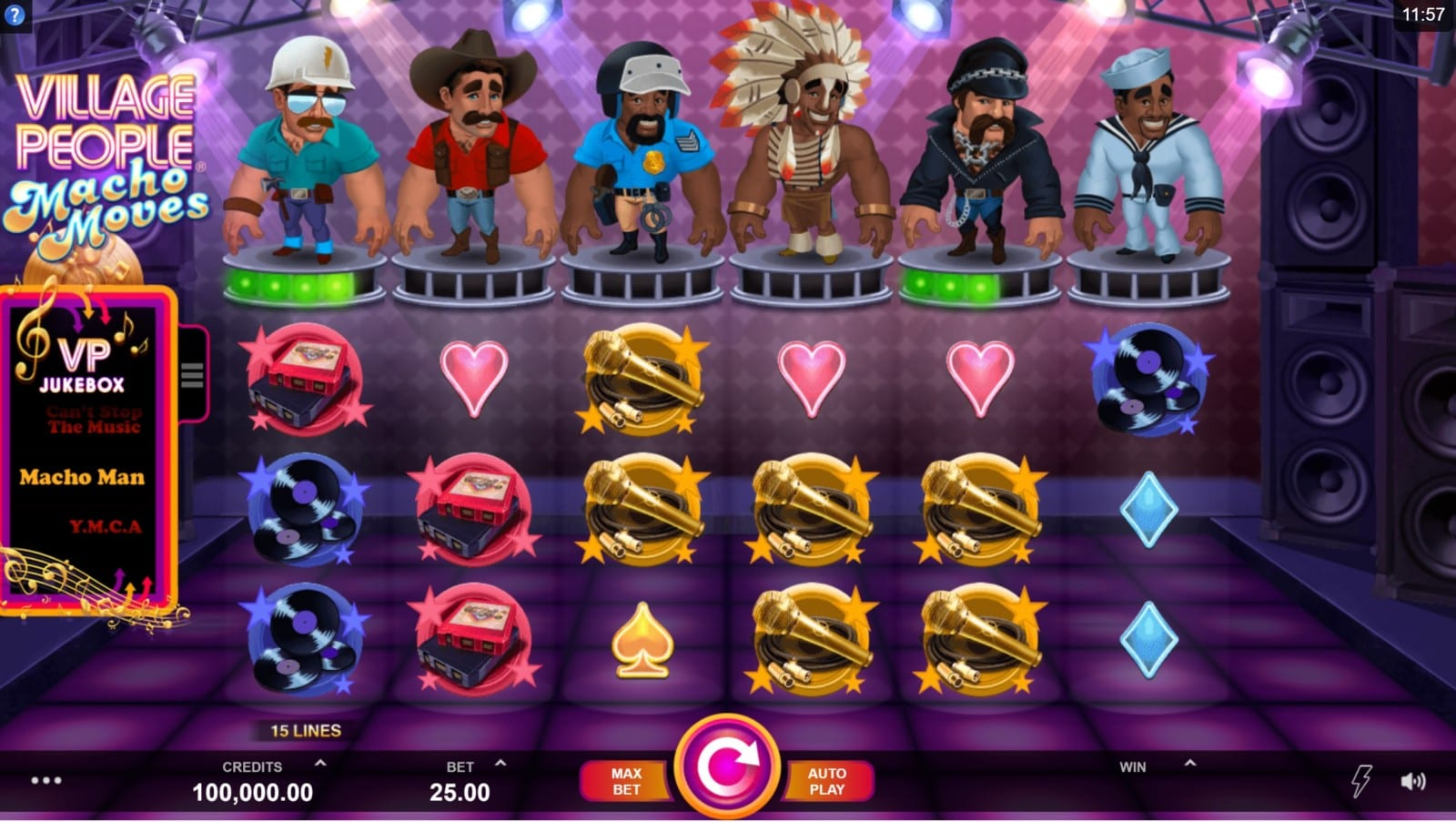 Village People - Macho Moves Slots review