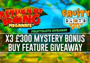 Return Of Kong Bonus Buy Giveaway