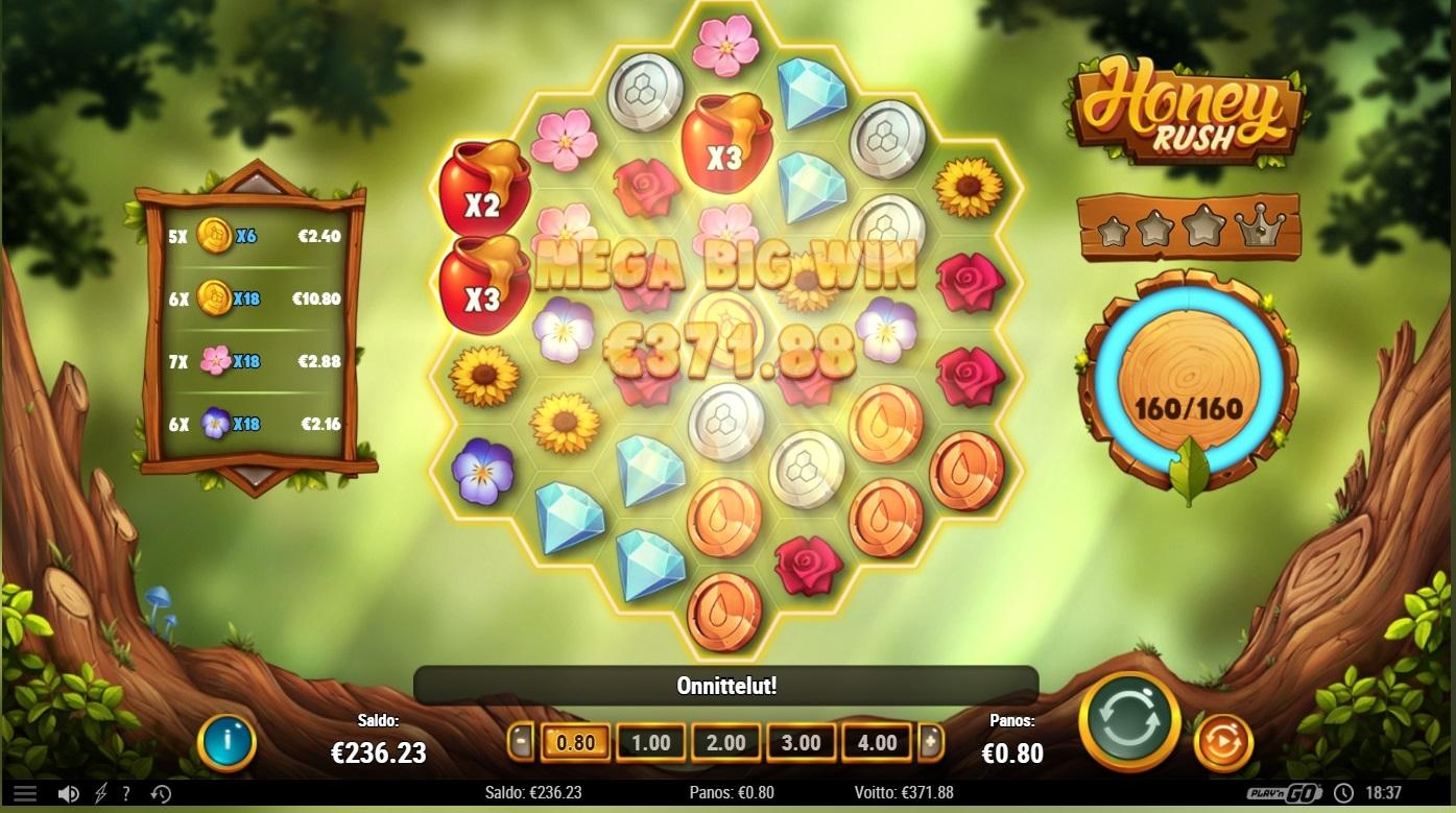 Honey Rush slot review