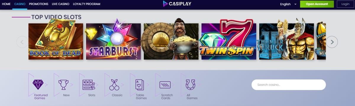 Casiplay Casino Games
