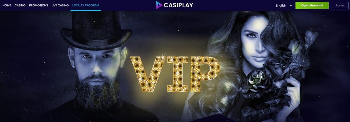 Casiplay Casino VIP