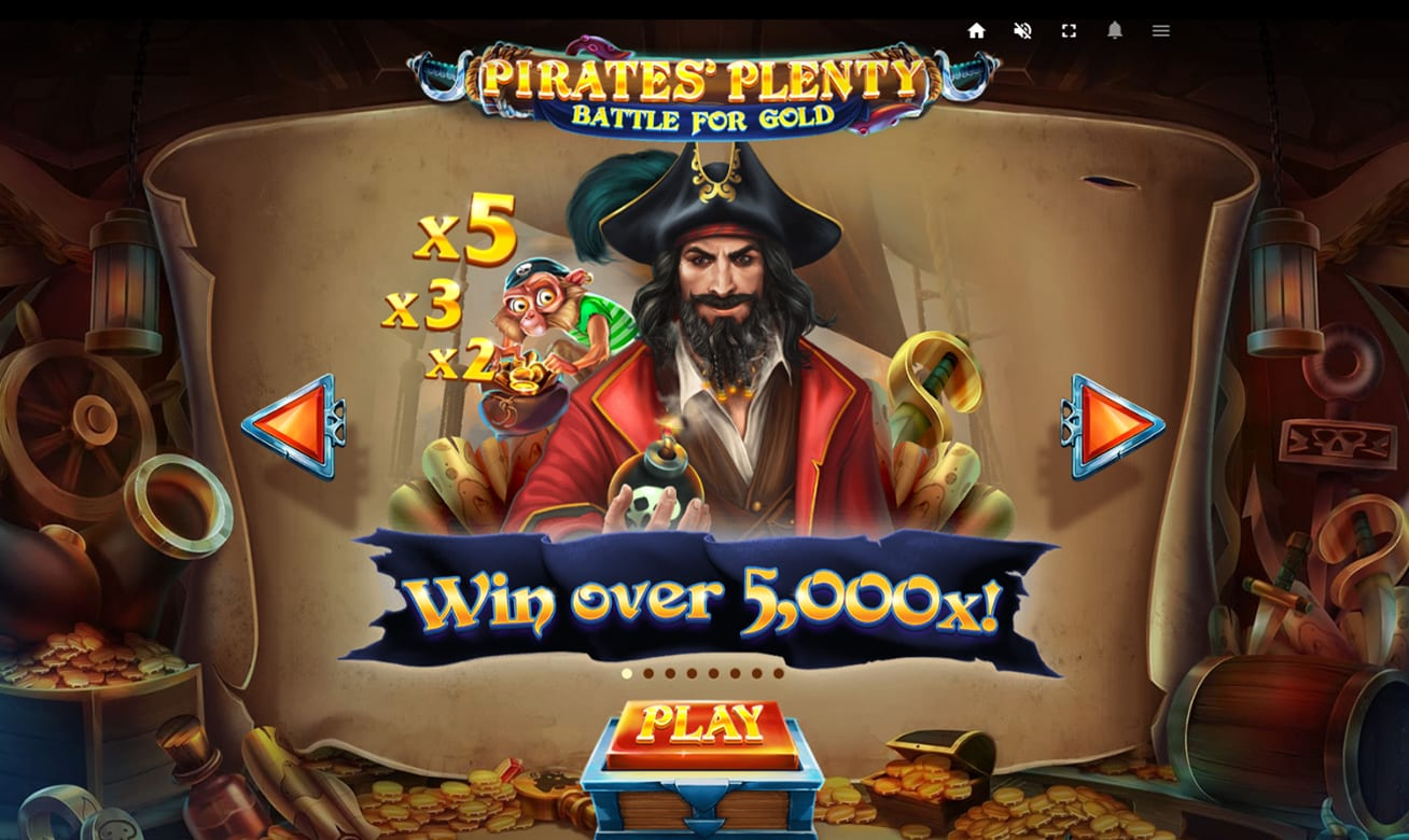 Pirates Plenty 2 Slot bonus