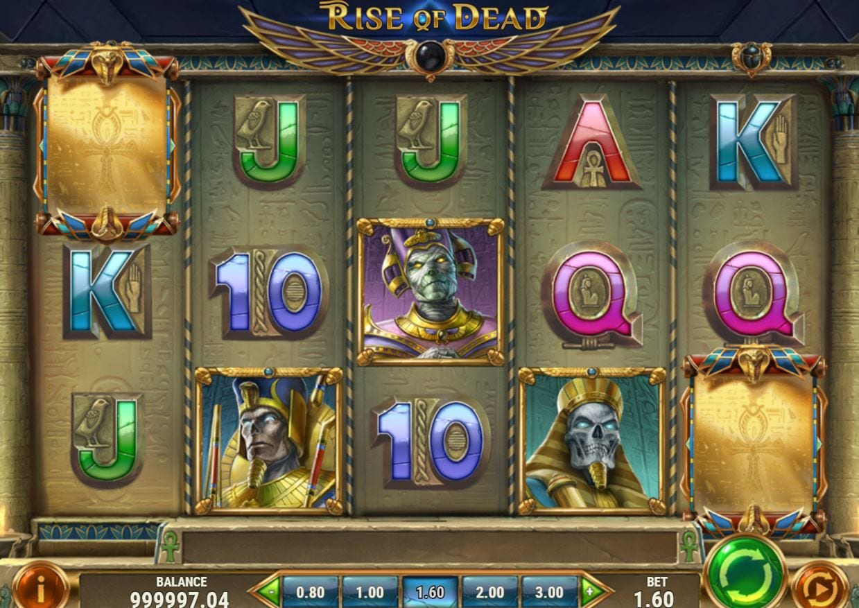rise of dead slot free spins