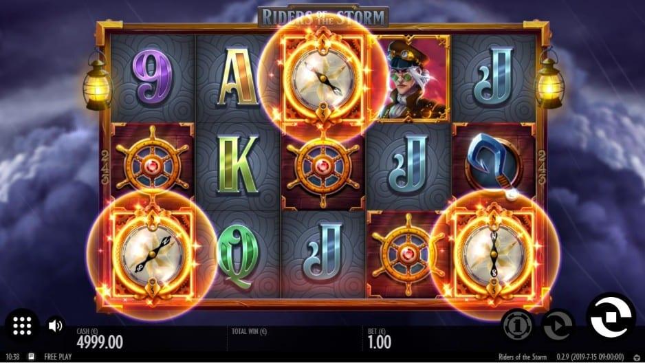 Riders of the Storm Slot bonus