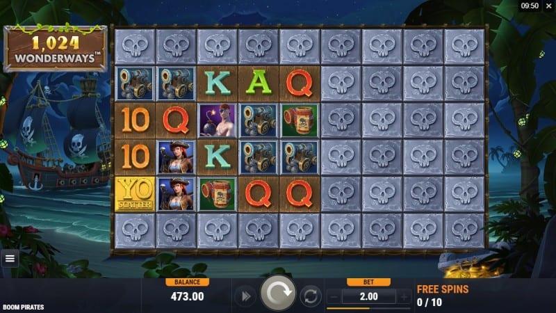 Boom Pirates Slot free spins