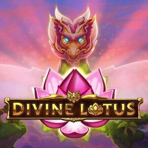 Divine Lotus Slot Logo