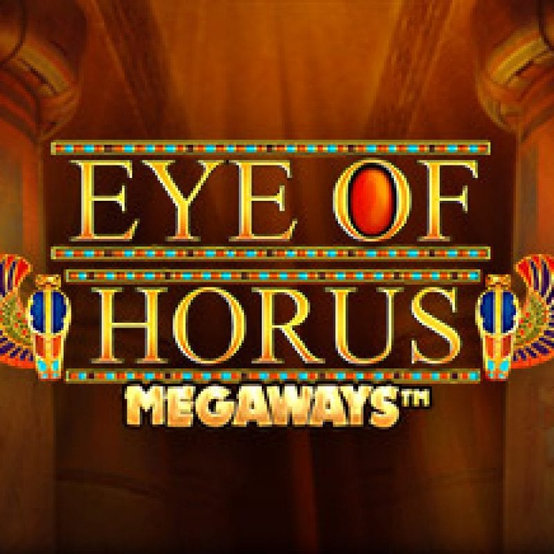 eye of horus megaways logo