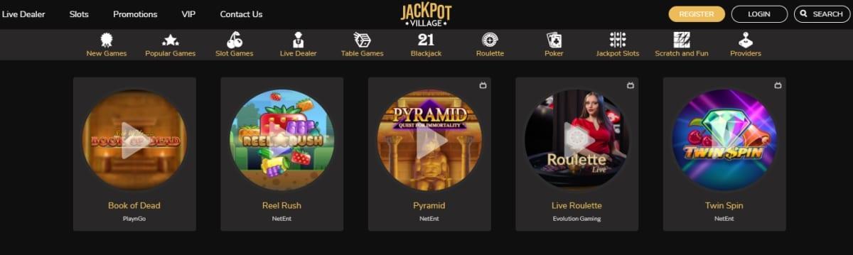 Jackpot Village Casino Slots