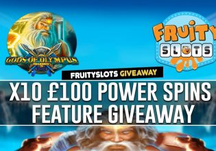 Power Spins Feature Giveaway