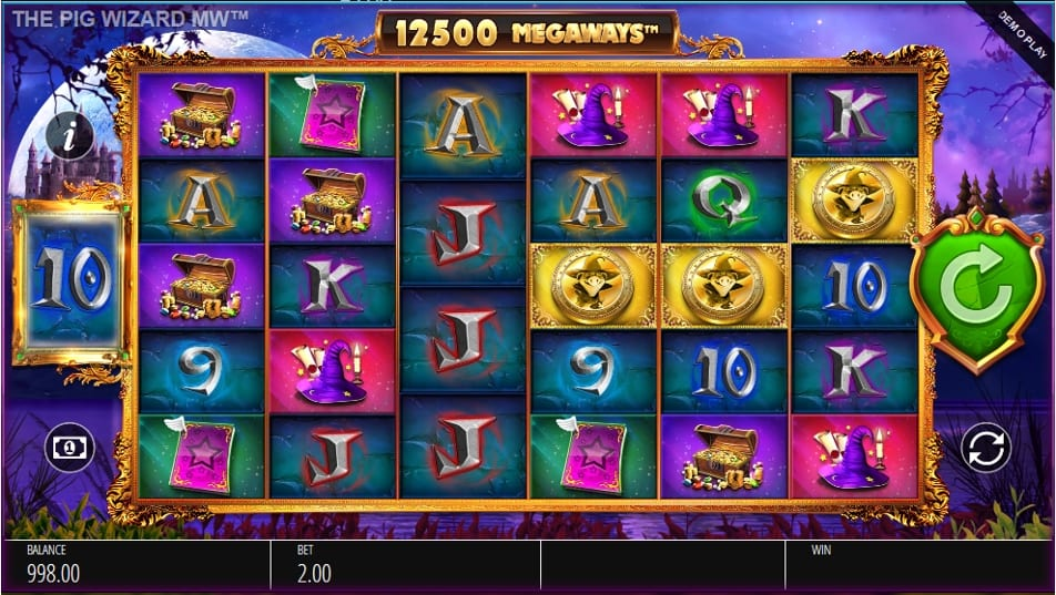 The Pig Wizard Megways Slot free play