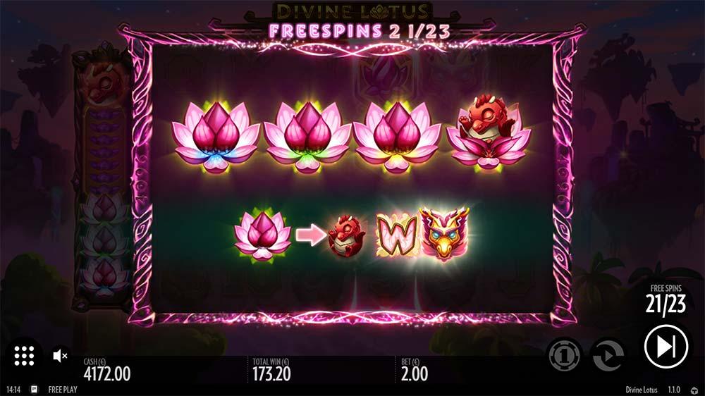 Divine Lotus Slot free spins