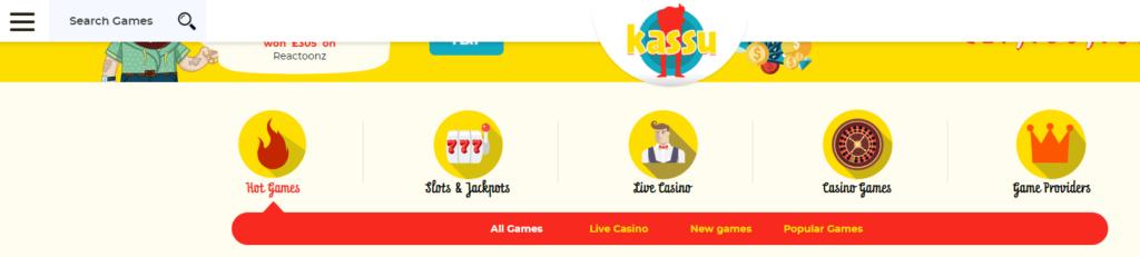 kassu casino slot games