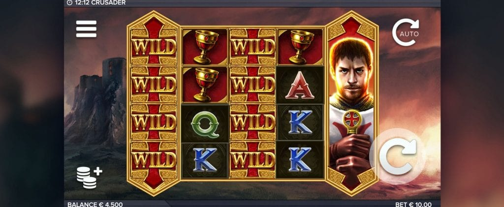 Crusader slot big win