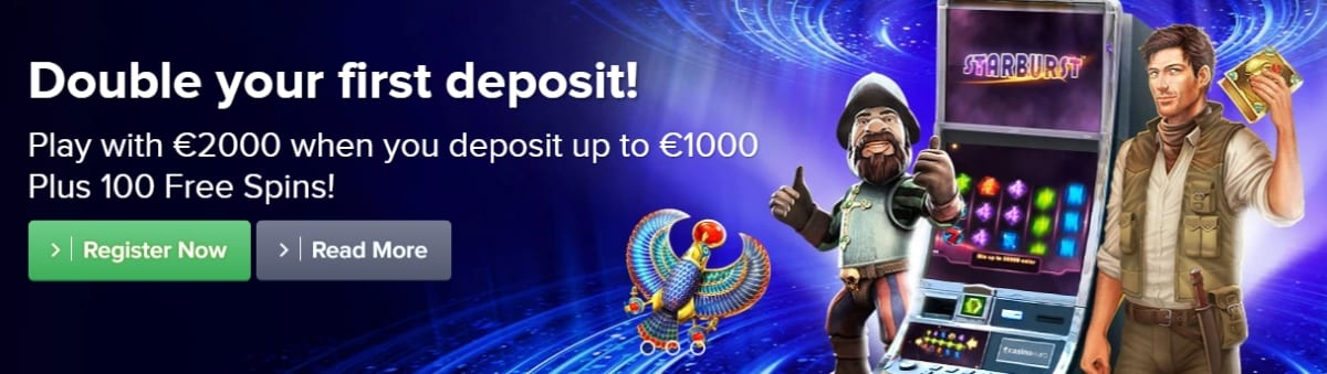 Casino Euro Welcome Offer