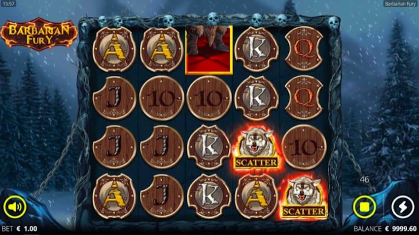 Barbarian Fury bonus