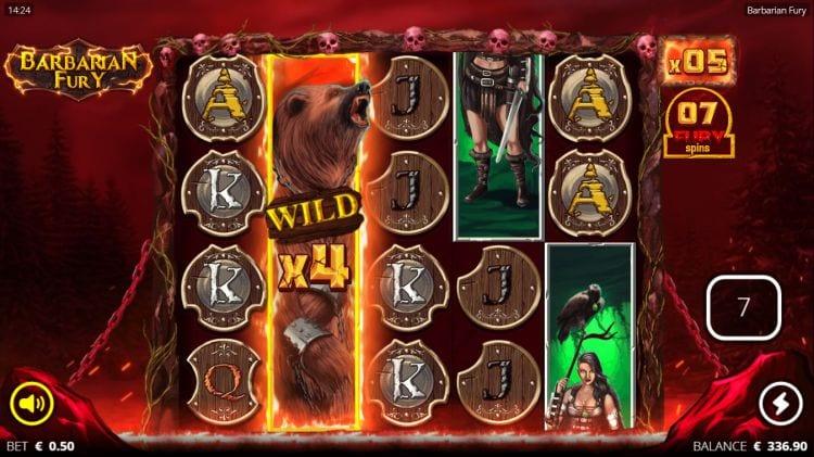 Barbarian Fury Big Win