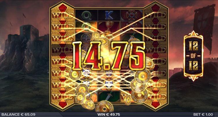 Crusader slot bonus