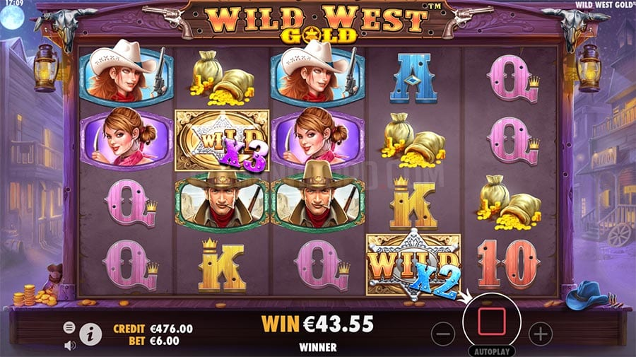 Wild West Gold Slot free spins