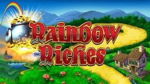 rainbow riches 98% rtp slot by Barcrest