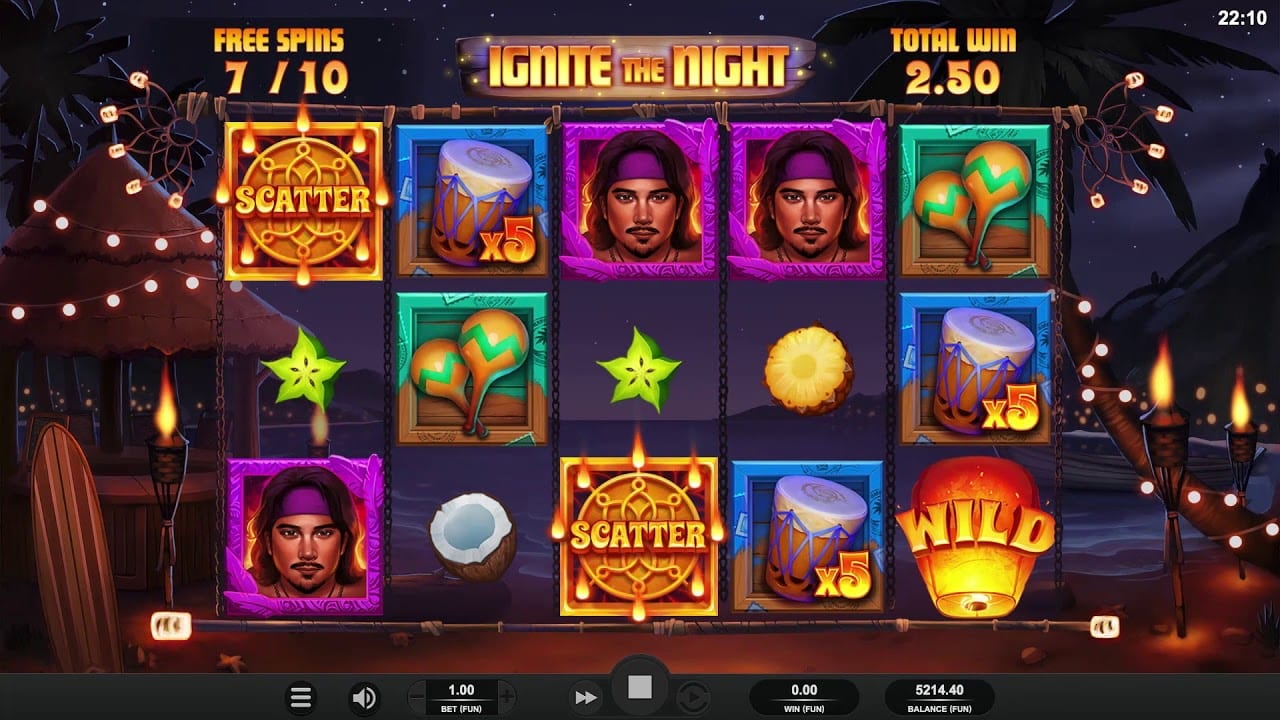 Ignite The Night Slot Bonus
