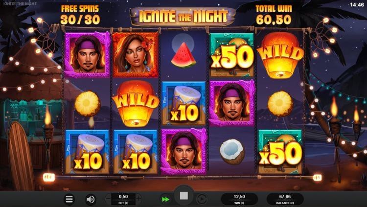 Ignite The Night Slot Freespins