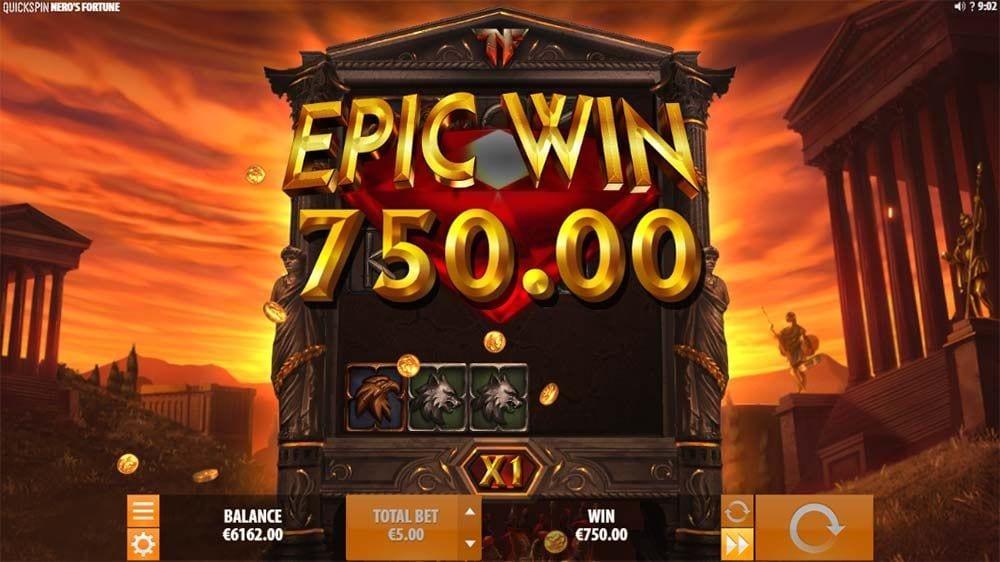 Neros Fortune Slot Big Win