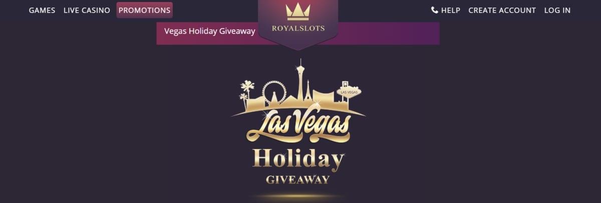 Royal Slots Casino Giveaway