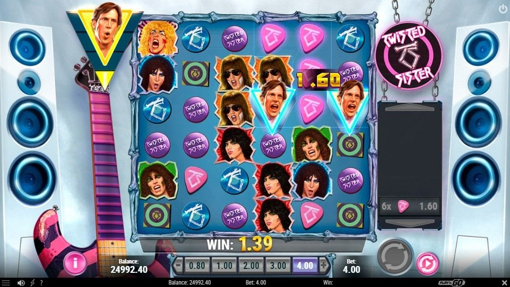 Twisted Sister Slot Gameplay