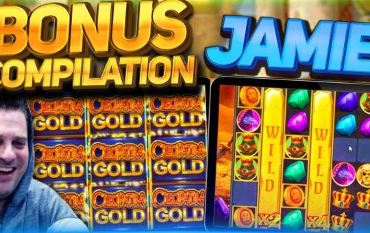 JAMIE SLOTS BONUS COMPILATION!