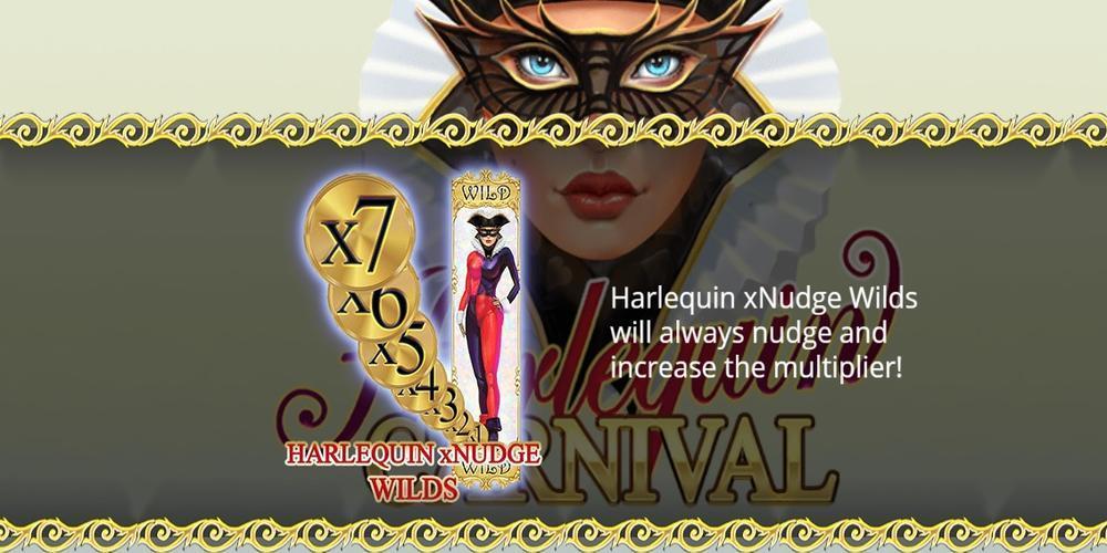 Harlequin Carnival Slot Pay Table