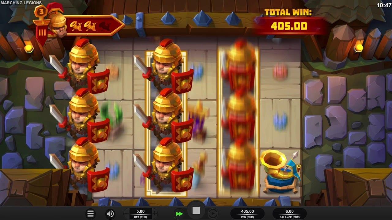 Marching Legions Slot Bonus