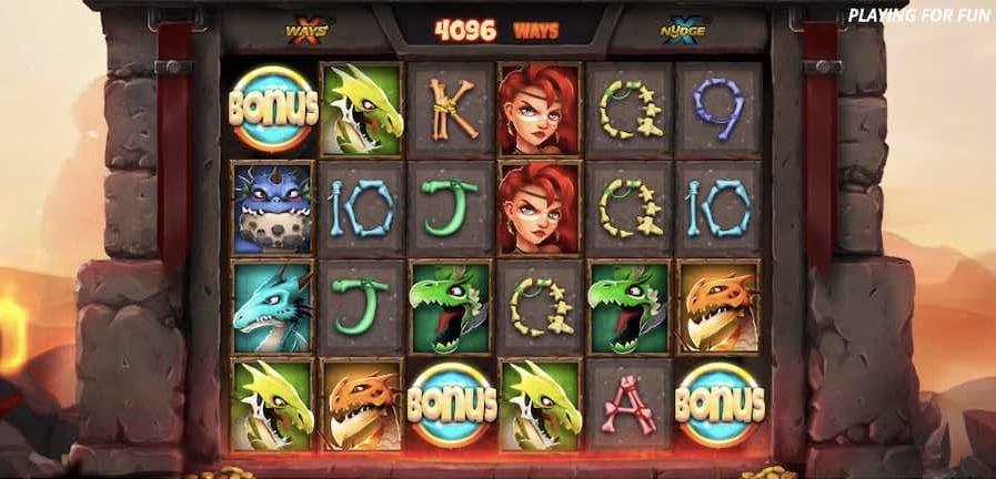 Dragon Tribe Slot Bonus