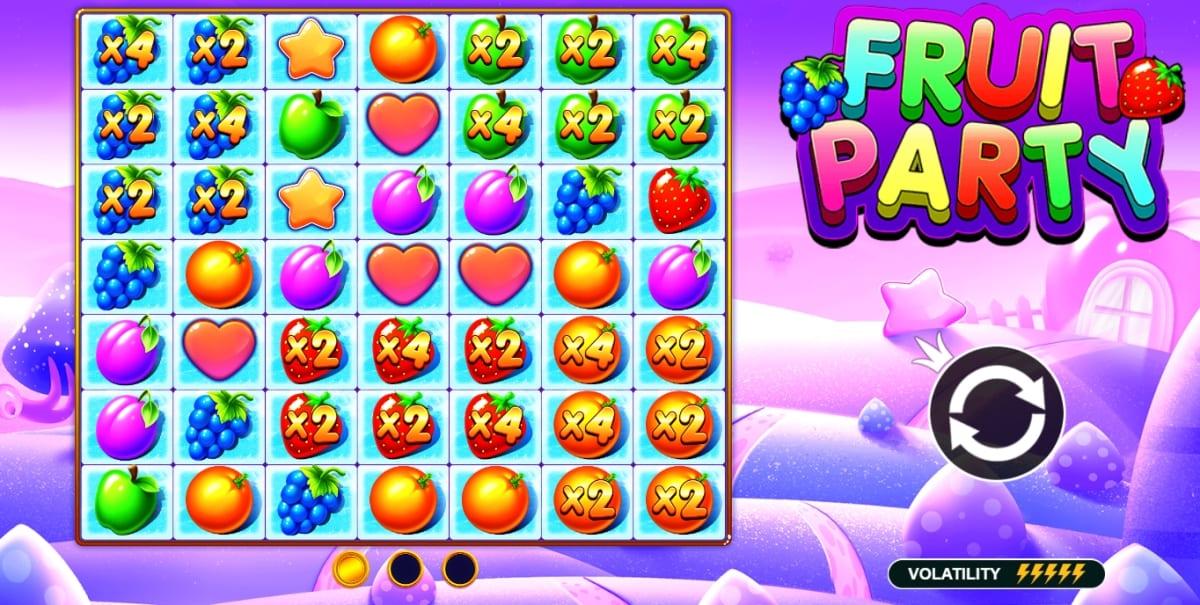 Fruit Party Slot Feature