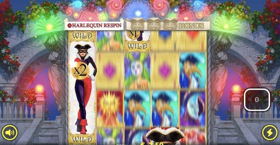 Harlequin Carnival Slot Bonus