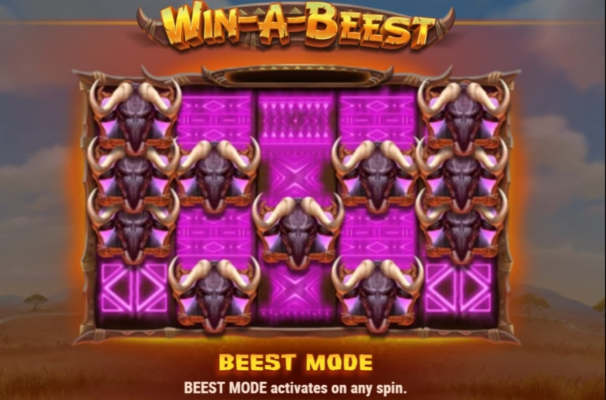 Win A Beest Slot Feature