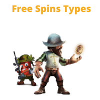 free spins types