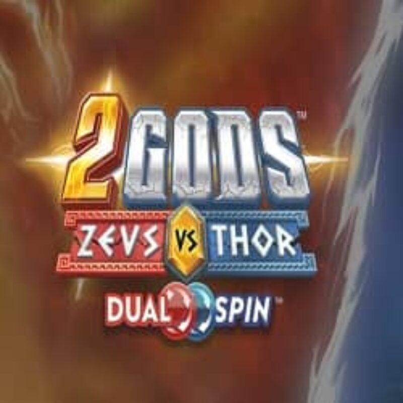 2 Gods Zeus vs Thor Slot Logo