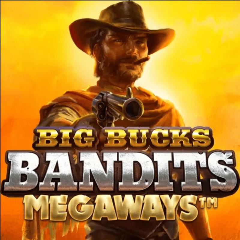 Big Bucks Bandit Megaways Slot Logo