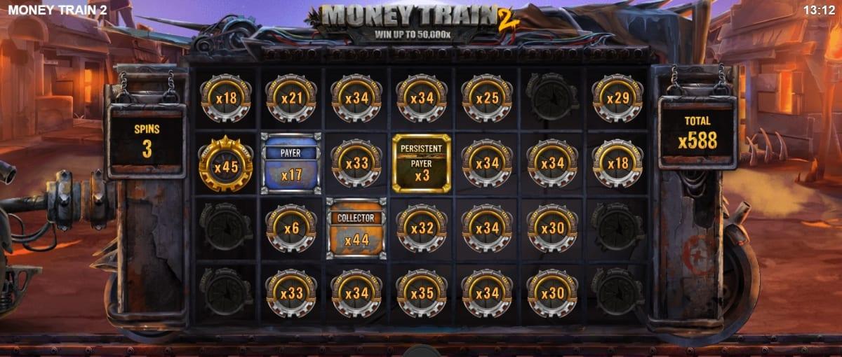 Money Train 2 Slot Bonus