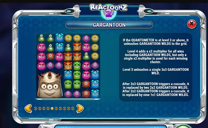 Reactoonz 2 Slot Information (2)