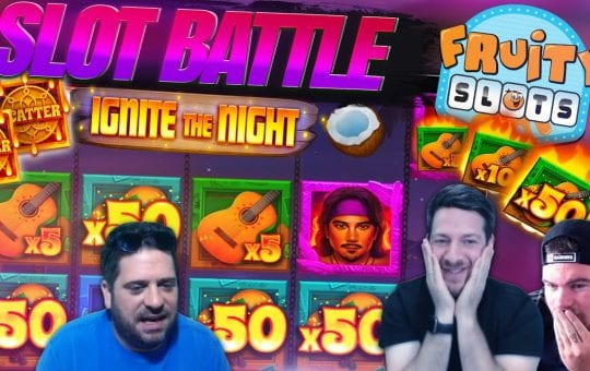EPIC SUNDAY NIGHT SLOTS BATTLE!  Feat. RELAX GAMING SLOTS!
