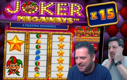 JOKER MEGAWAYS BIG WINS! New Online Slot