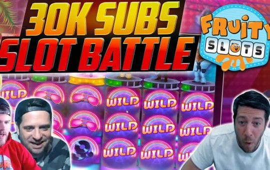 SUNDAY SLOT BATTLE BONANZA!! 30K Subscriber Special!