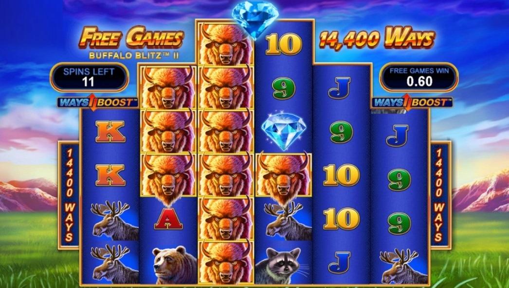 Buffalo Blitz 2 Slot Free Spins