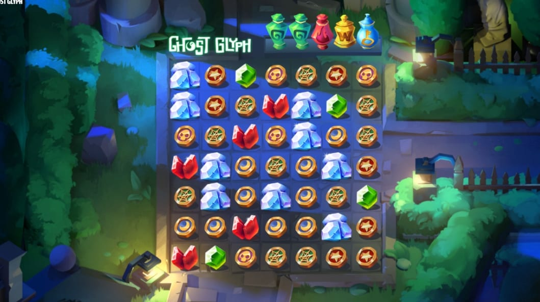 Ghost Glyph Slot Gameplay